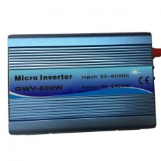 Y & H 600 W Grid Tie Solar Inverter MPPT Inverter Sine Wave Murni DC22V-60V untuk AC190-260V untuk 24 V /30 V/36 V Panel Surya/Sistem Angin-Intl