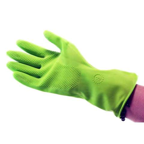 YOUNG YOUNG Latex Gloves IL SARUNG TANGAN EVERGREEN 8INCH Karet Rubber - Hijau