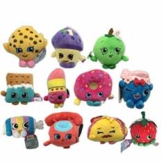 11pcs/lot Shop kins season Plush popular doll Shop kins Dolls Toys Birthday Gift 17-25cm high(Multicolor)(OVERSEAS)