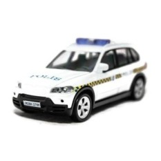 1:43 Bmw X5 Polis Police Diraja Malaysia Pdrm 169 Diecast Blue Color Car (White ) - intl