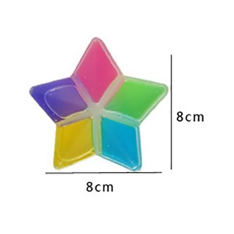 5 Pcs Clay DIY Crystal Lumpur Cara Transparan Magic Mainan Anak-Intl 2
