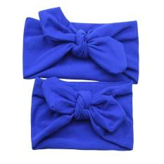AC Headband Ibu Bayi Kelinci Telinga Headband Bow Tie Headband dengan Orang Tua-anak Stretch Cotton Headbands Grosir-Intl