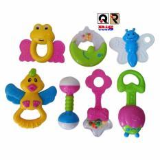 AHS Mainan Bayi / Baby Playset Rattle Isi 7