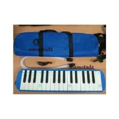Alat Musik Pianika Biru berkwalitas