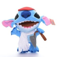 Amazing Blue Lilo and Stitch Wear Scrump Dress Plush Boys Collection Toys Cartoon Movie Figure Toy Doll 7inch Brand New