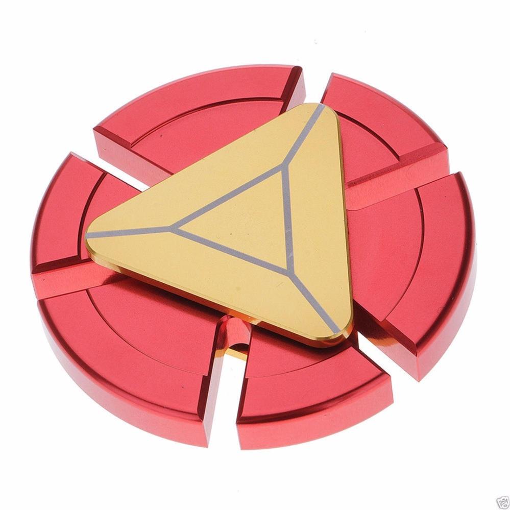 Angel Fidget Spinner Premium I-ron Man Mainan Anti Stress Hand Spinner - Merah-