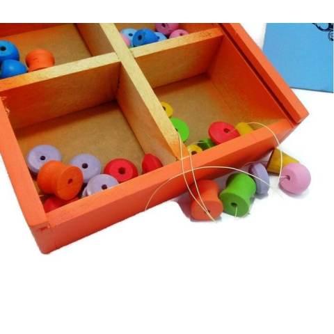 Meronce Merjan - Mainan Edukasi Anak Belajar Warna Geometri dan Kreatifitas 2