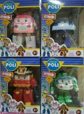AUG Terlaris!!! Hot Sale!!! Robot Mobil Mainan Robocar Poli set isi 4
