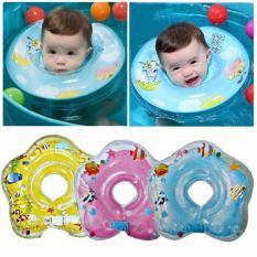 Baby Neck Ring Float Rattle Pelampung Leher Bayi Kerincing - Warna Random (Ban leher ban)