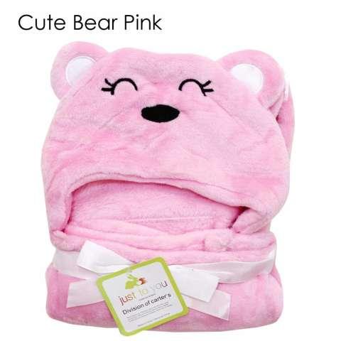 Baby Talk - Soft Blanket With Hat - Selimut Halus Untuk Bayi Balita & Anak Motif