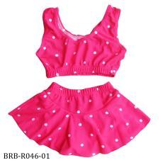 Baju Renang Bayi 2 Pieces Motif Polkadot BRB-R046