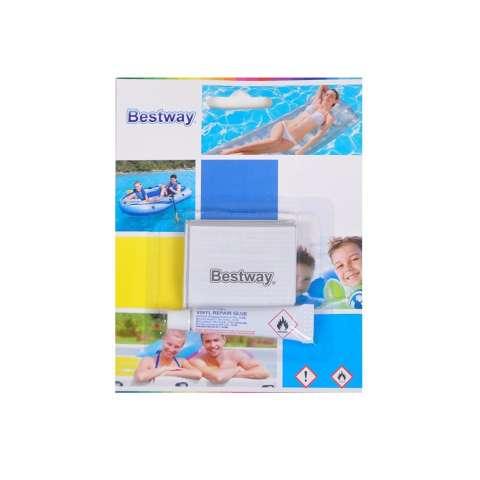 Bestway Repair Kit. Lem Tambal Pelampung Renang Sofa Kasur Angin Bantal dll