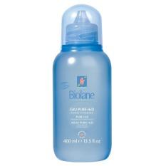Biolane Baby Pure H2O 400ml - Pembersih Wajah Dan Tubuh Bayi