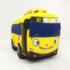 Boneka Mobil Bus Tayo Rogi Lani Gani ( Tayo Bus Stuffed Plush Doll ) 20 cm - Kecil Multiwarna