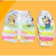 Celana pendek Bayi isi 12 pcs MELODY umur 3-12 bulan/celana santai/celana rumah/anak laki-laki/anak perempuan
