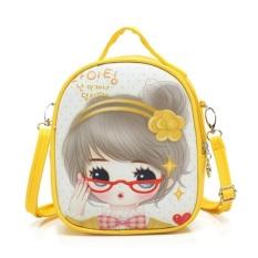 Children Shoulder Bag Girls Travel Bag Mini Kindergarten Cartoon Cute Baby Girl Backpack 17×9×20cm - intl