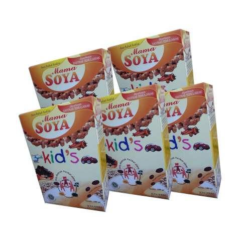 Coklat Kids Soya Cokelat - Khusus Alergi Susu Sapi - 5 Pcs - Susu Anak Bebas