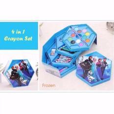 ... Crayon Set isi 54 Warna Crayon Fancy Source Home Paket Alat Tulis Anak Lengkap Biru Crayon