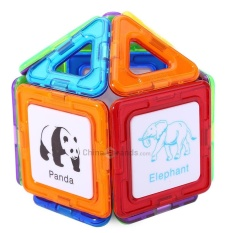 DIGE 80pcs Magic Magnetic Block Educational Toy - intl
