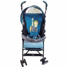 Does 202i - Buggy Baby Stroller - Kereta Dorong Bayi - Biru