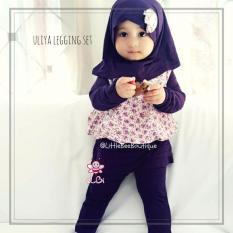 Elbi Uliya Legging Set / Baju Muslim Anak Balita / Baju Bayi Perempuan by Little Bee Boutique