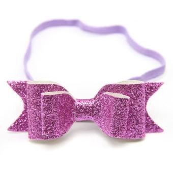 Promo Fangfang Anak-anak Perempuan Bunga Karet Rambut Pita Bando Aksesoris Headwear Elastis Hadiah-