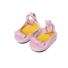 Modis Buatan Tangan Sepatu Boot untuk Semua 18 Inch Perempuan Doll Pesta Hadiah Merah Muda-Internasional