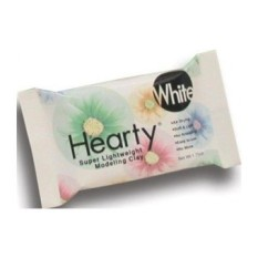 FC Hearty Super Lightweight Air Dry Clay 50Mls-White - intl
