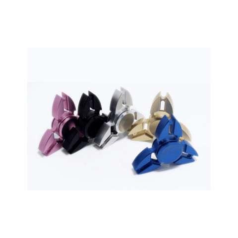 ... Premium Tri Spinner Zamrud Ruby Source · Fidget Spinner Ninja Metalic Aluminium Hand Finger Focus Toys Colours with Steel Box Mainan Jari