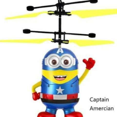 Jual Flying Toy Mainan Anak Terbang 4fn4n Sensor Tangan Karakter Minion Harga Rp 279.000