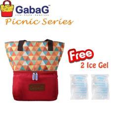 Gabag cooler bag coolerbag Senja -  tas penyimpan asi - asip - thermal bag