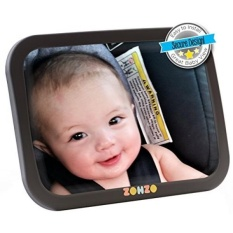 GPL/Cermin Mobil Bayi untuk Kursi Belakang Tampilan Belakang Bayi Yang Menghadap Ke Dalam Backseat Mengencangkan dengan Ganda Tali Pivot sendi untuk dengan Mudah Menyesuaikan Sudut Pandang Yang Diinginkan.../Kapal dari Amerika Serikat-Internasional