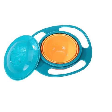 ... Gyro Bowl Mangkok Anti Tumpah Untuk Makanan Bayi