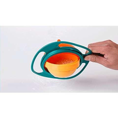 ... Gyro Bowl Universal Mangkok Anti Tumpah untuk Anak Tempat Makan Bayi dan Anak Tempat Belajar