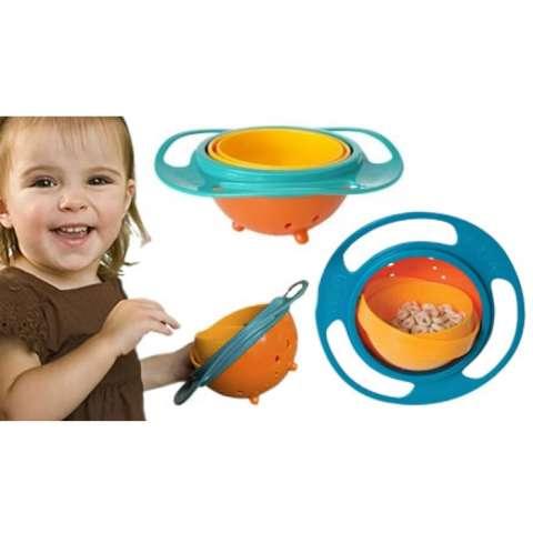 ... Makanan Bayi 1pcs Source · Gyro Bowl Universal Mangkok Anti Tumpah untuk Anak Tempat Makan Bayi dan Anak Tempat Belajar