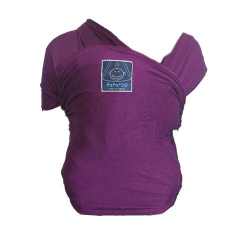 Hanaroo Gendongan Bayi Multifungsi Baby Wrap Polos Pink Baby