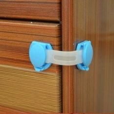 Jiayiqi 5 Buah Anak Kunci Tali Pengaman Pintu Kulkas Lemari Plastik Laci Kabinet Sudah Layu Bandung