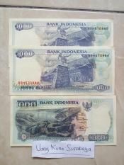 Uang kuno rp1000 atau 1000 rupiah Lompat Batu Kondisi Baru N Mulus N Asli