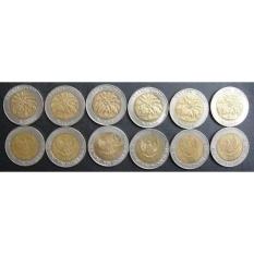 Uang kuno Koin Set Tahun Lengkap 1000 Sawit Isi 6 Keping.Lengkap