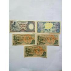 Uang kuno Kertas 18 Rupiah atau rp18 untuk mahar