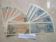 Uang kuno Rp1 - 1 Rupiah Kondisi Baru N Mulus N Asli