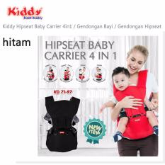 Kiddy Hipseat Baby Carrier 4 IN 1 (Hitam)