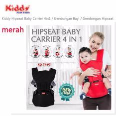Kiddy Hipseat Baby Carrier 4 IN 1 (Merah)