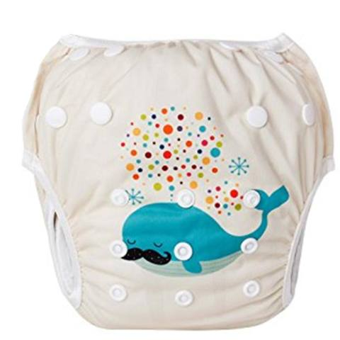Kidlove Cartton Digital Printing Swimming Pants Washable Soft Cloth Diaper for Baby Infant from 7 to 33 Pounds Specification:YS - intl 5