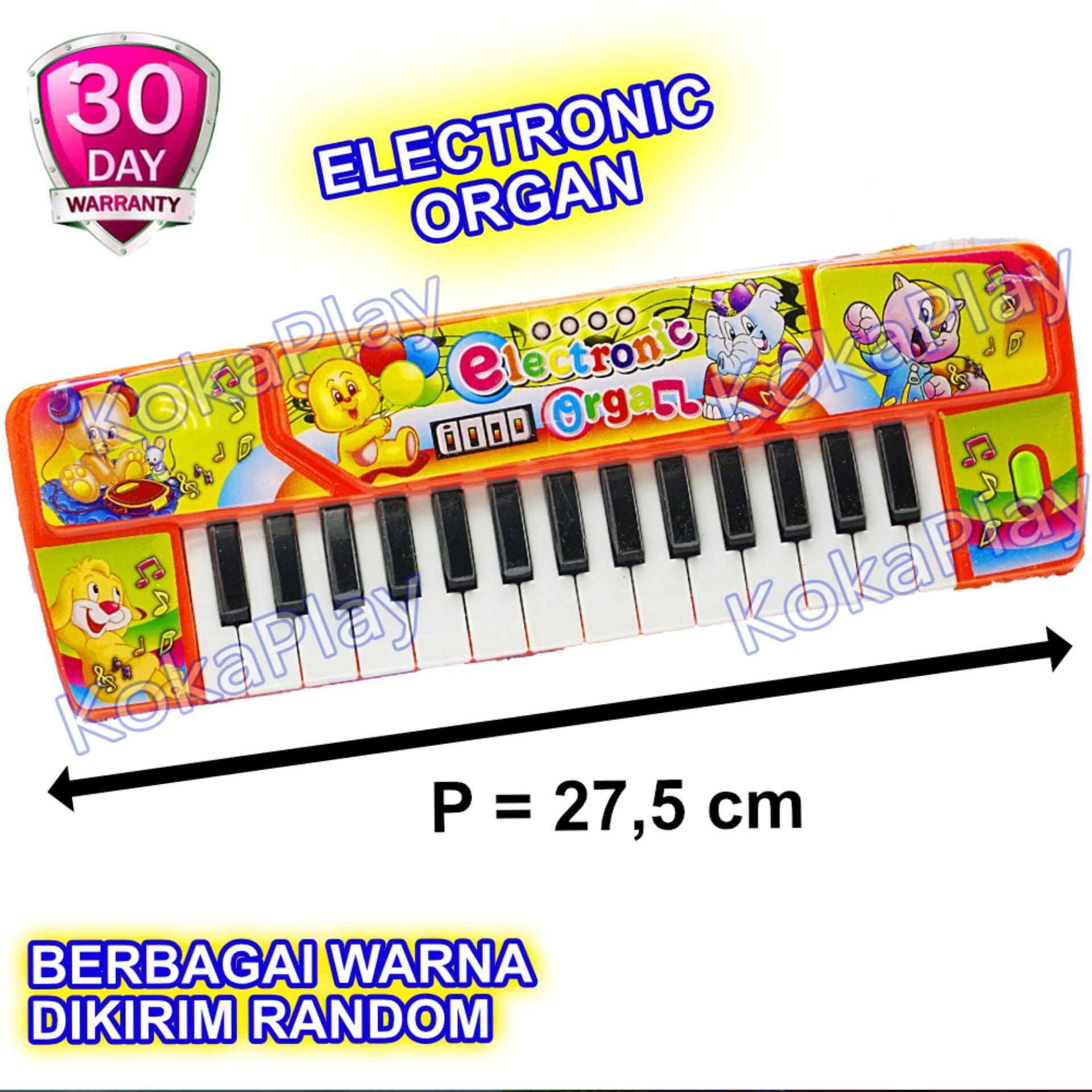 KokaPlay Ocean Electronic Organ 27 Keys Piano Music Mainan Anak Edukasi Piano Musik 27 Nada Animal