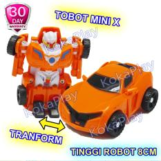 KokaPlay Tobot Mini X Y Series Tranformable Robocar Titan Mainan Anak Edukasi Mobil Robot Berubah Tobot Mini Seri Tanpa Baterai