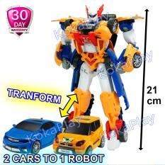 KokaPlay Tobot Titan Series Big 2in1 Transformable Robocar Mainan Anak Edukasi Mobil Robot Berubah 2 Mobil Jadi 1 Robot Besar Tanpa Baterai