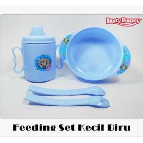 Lusty Bunny Baby Gift Set BPA FREE - Perlengkapan Makan Bayi 1 Set - Size S