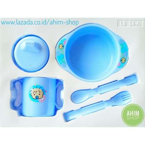Lusty Bunny Feeding Baby Gift Set BPA Free / Peralatan Makan Minum Bayi isi 5 Pcs