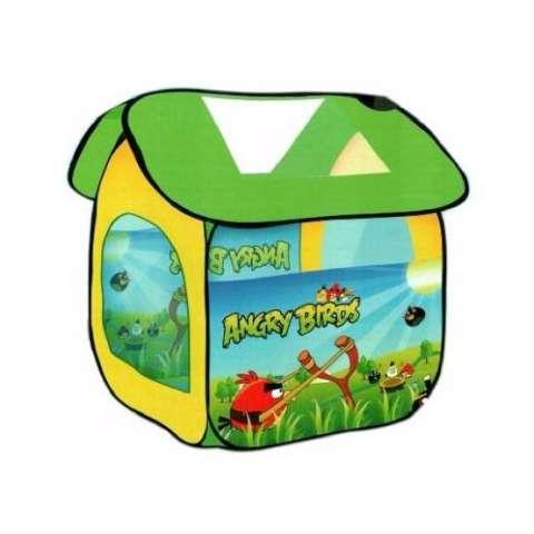 Mainan Anak - Tenda Rumah Angry Bird Mandi Bola Kado Laki Camping